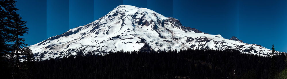 Quick panorama of some Tahoma shots