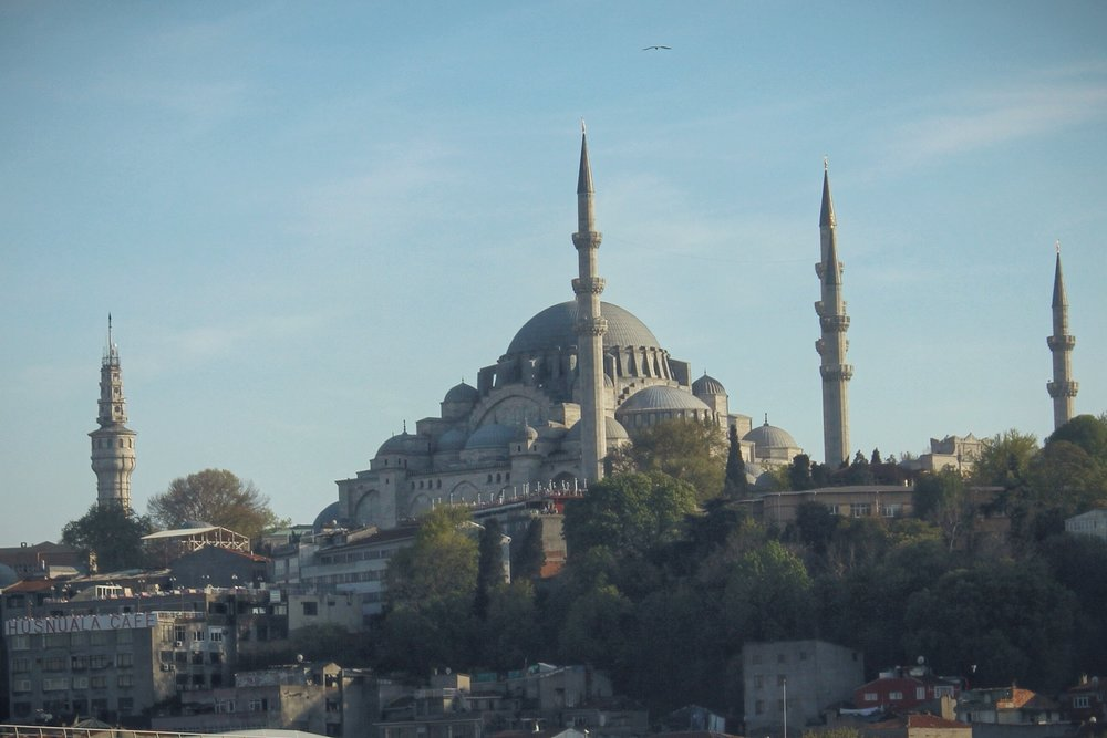 Suleymaniye Mosque from the Ataturk Bridge