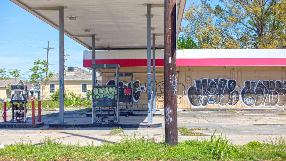 Lower Ninth Ward, still reeling from Katrina