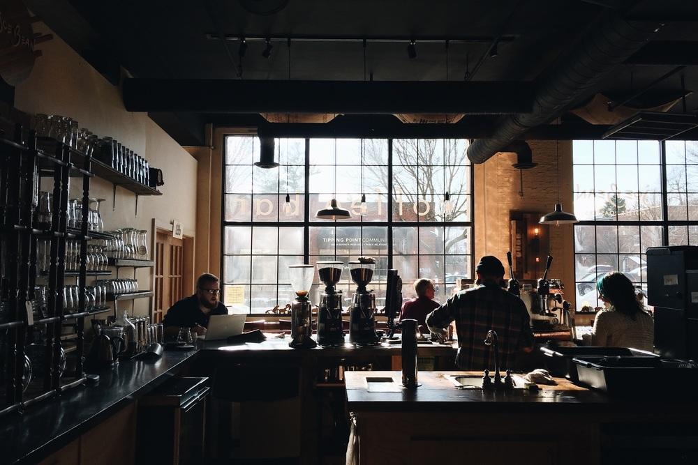 Joe Bean Coffee Roasters on University Avenue