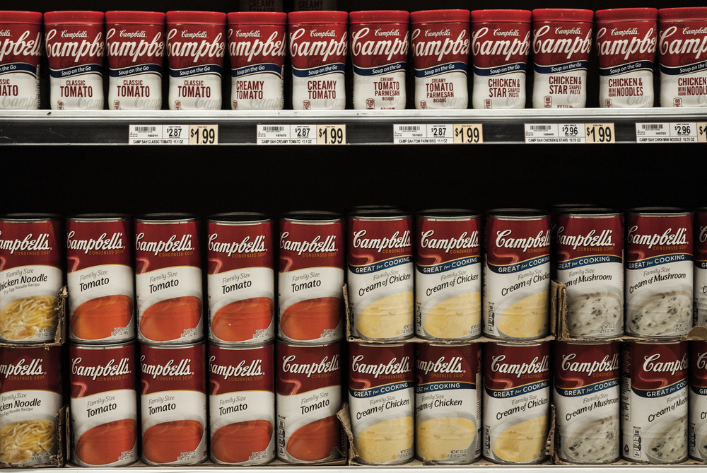 In 2016, the Campbell Soup Company announced it would begin labeling all products that contain GM ingredients