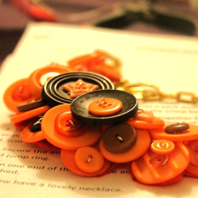 FUNKY NECKLACE MAKING