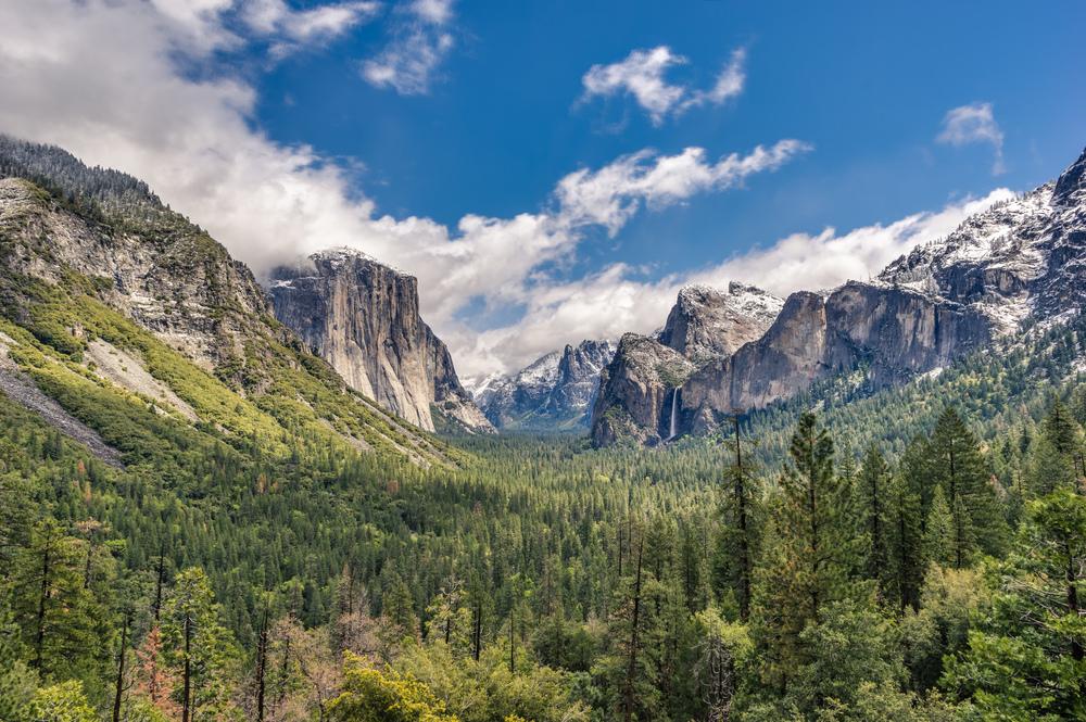 Tunnel View im Yosemite Nationalpark