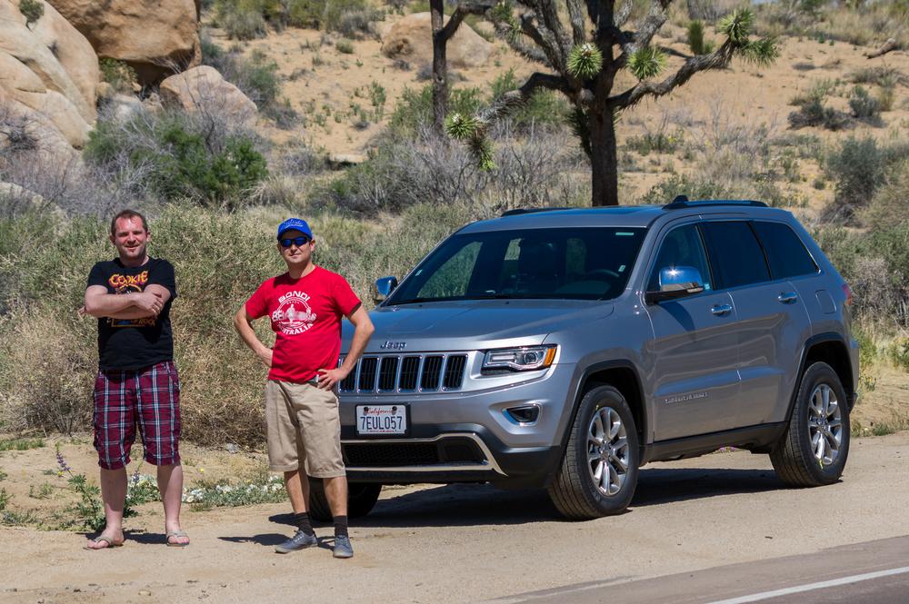 Unser Jeep. Fast 4000 Meilen unser Gefährte.