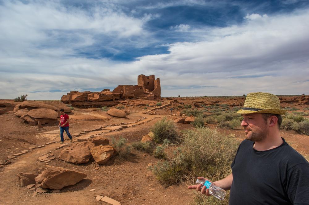 Am Wukoki Pueblo.