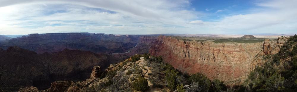 Desert View am Grand Canyon. Ein grandioser Blick.