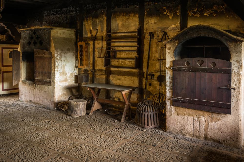Kochstelle im Freilichtmuseum am Kiekeberg