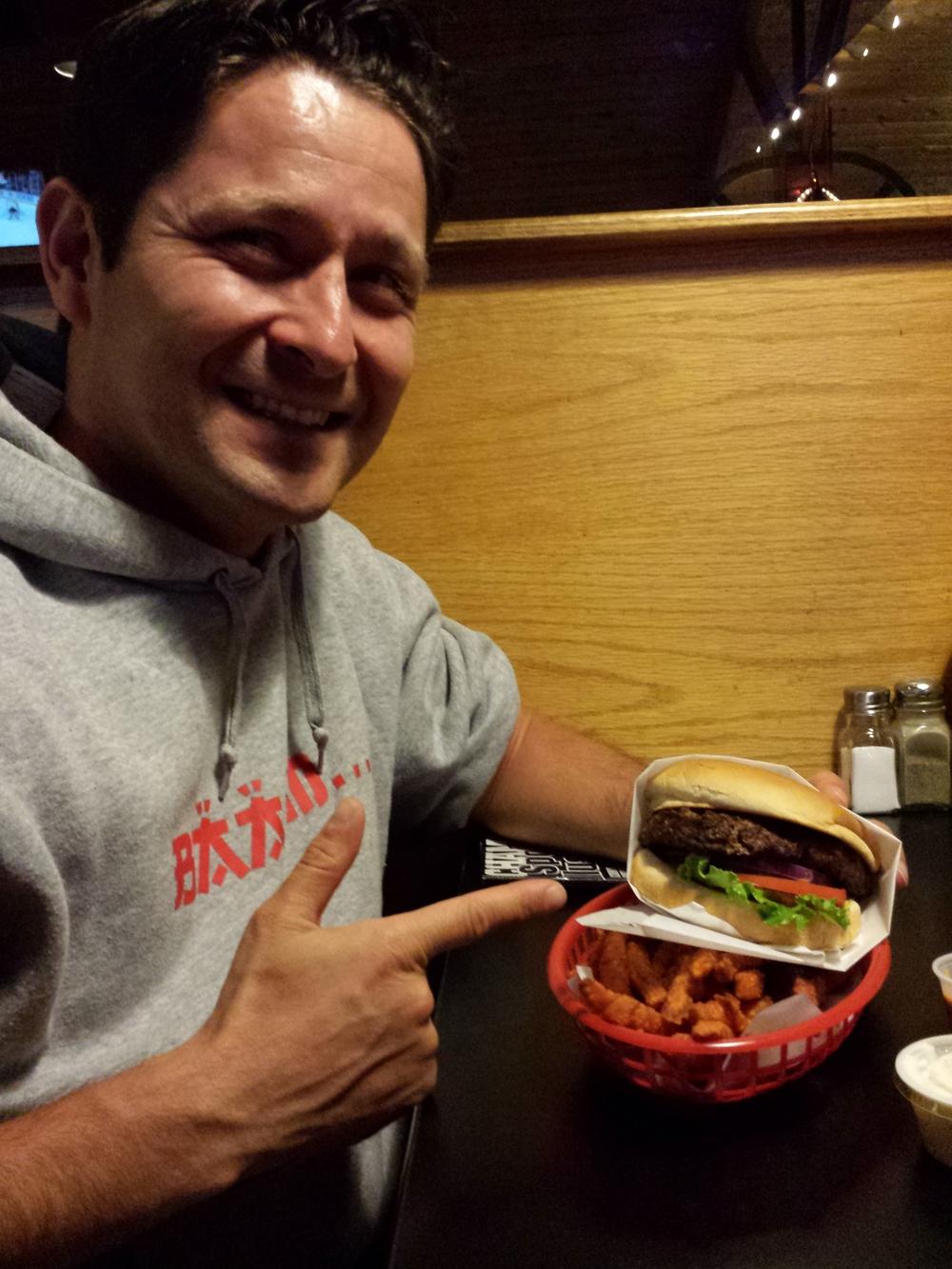 Bei Slackers in Page gab es den ersten richtig guten Burger für uns.