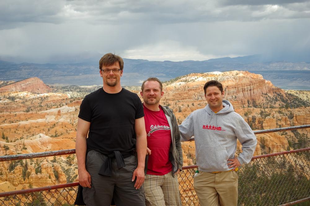 Unser erster Aussichtspunkt auf den Bryce Canyon.