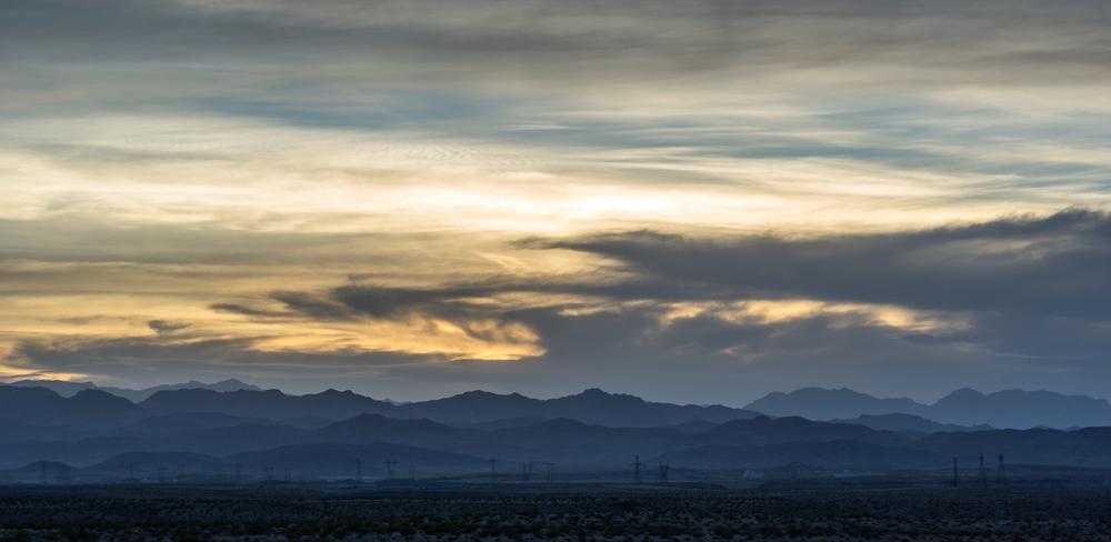 Auf unserem Weg nach Las Vegas durchquerten wir eine karge, aber dennoch schöne Landschaft.