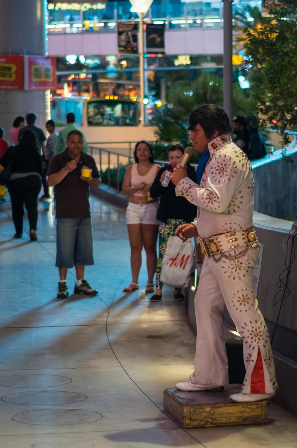 Elvis darf natürlich nicht fehlen.