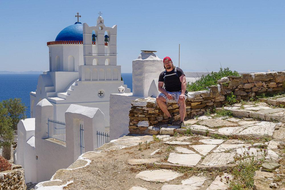 Das Kloster Panagia Poulati auf Sifnos