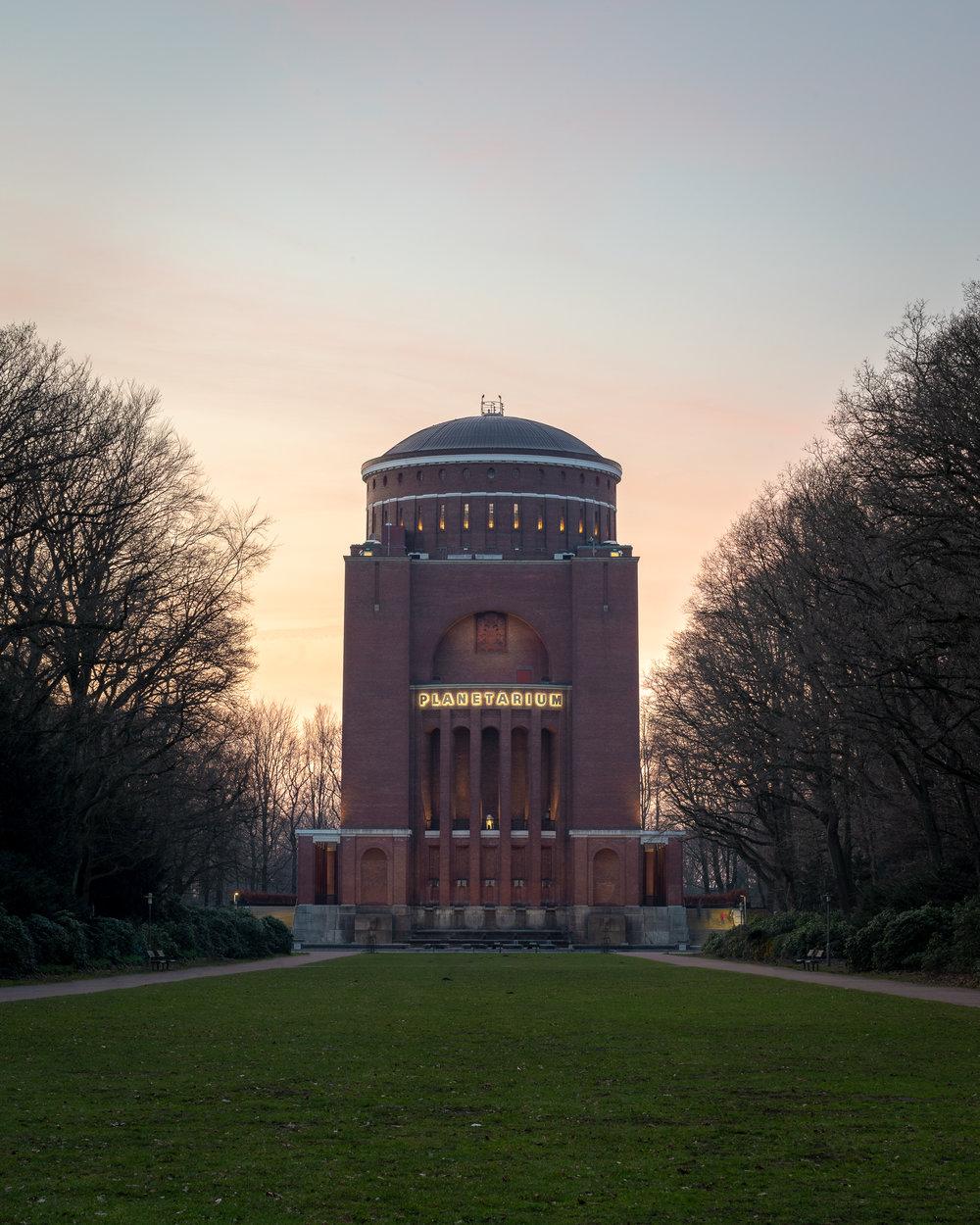 Das Planetarium in Hamburg