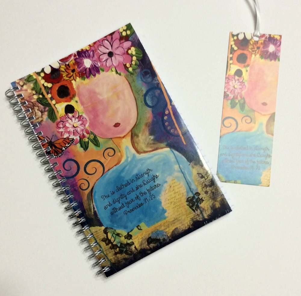 Journals and book marks are available of this painting at http://www.maggiegmiller.com/new-products-1/spiral-bound-note-book-journal