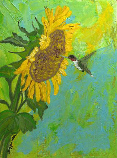 Feeding-Time-Sunflower-hummingbird-originalartwork..jpg