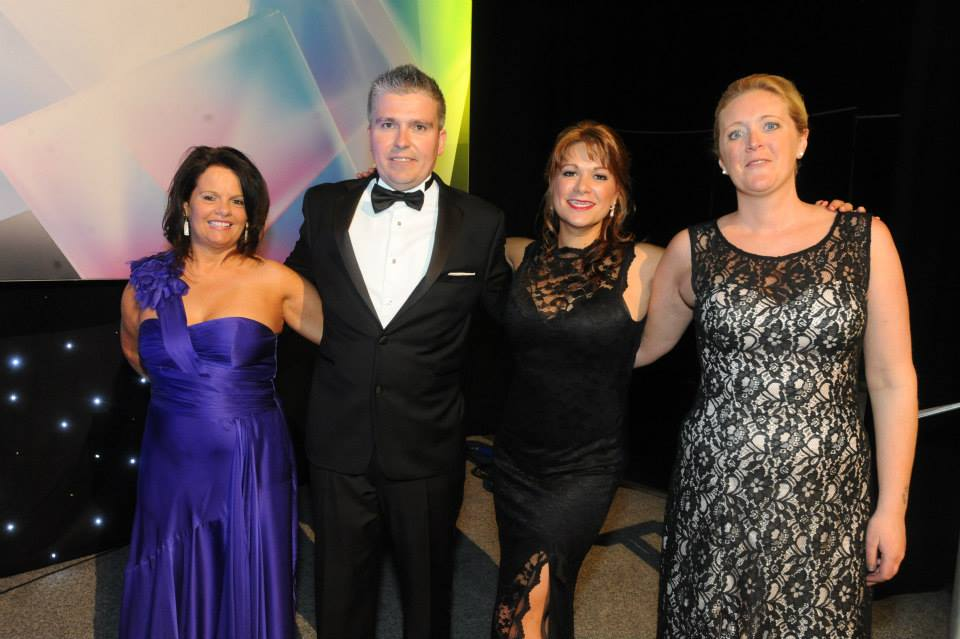 David Bell with the Essex Business Awards Team
