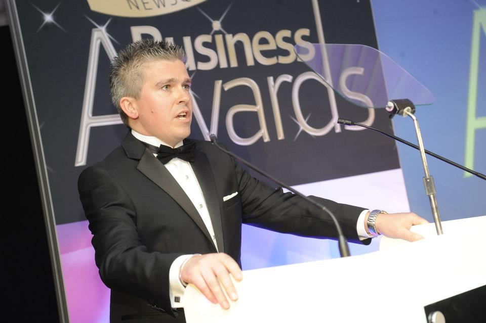 David Bell hosting Essex Business Awards