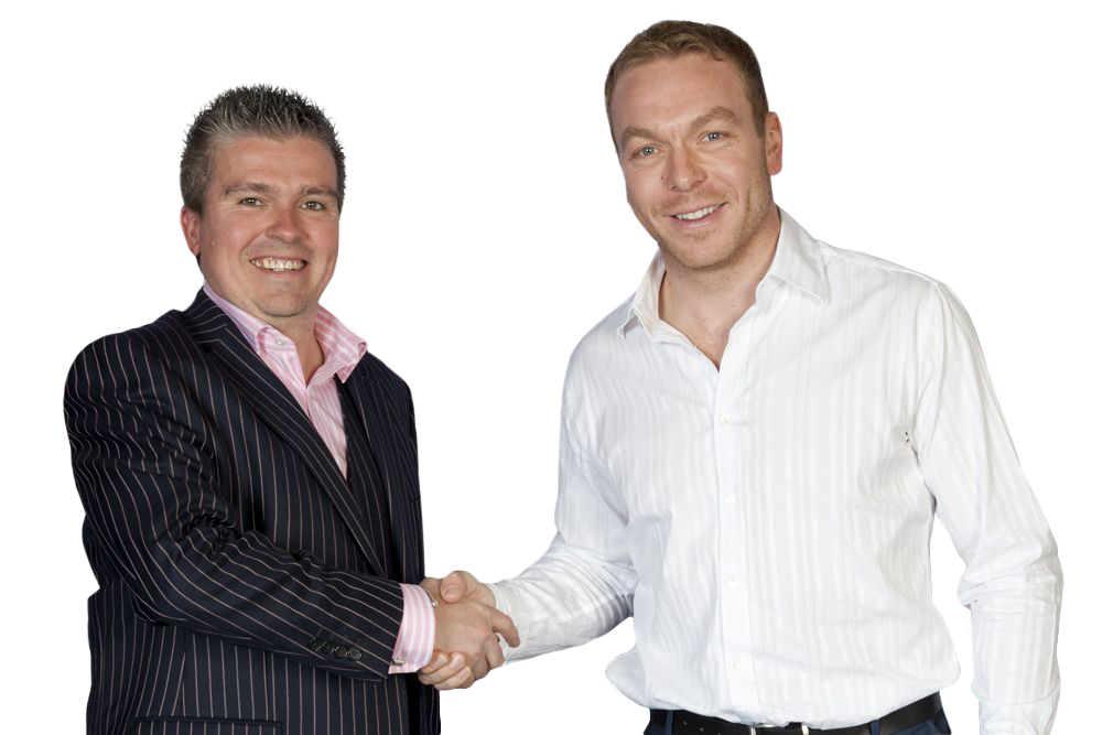 David Bell and Sir Chris Hoy