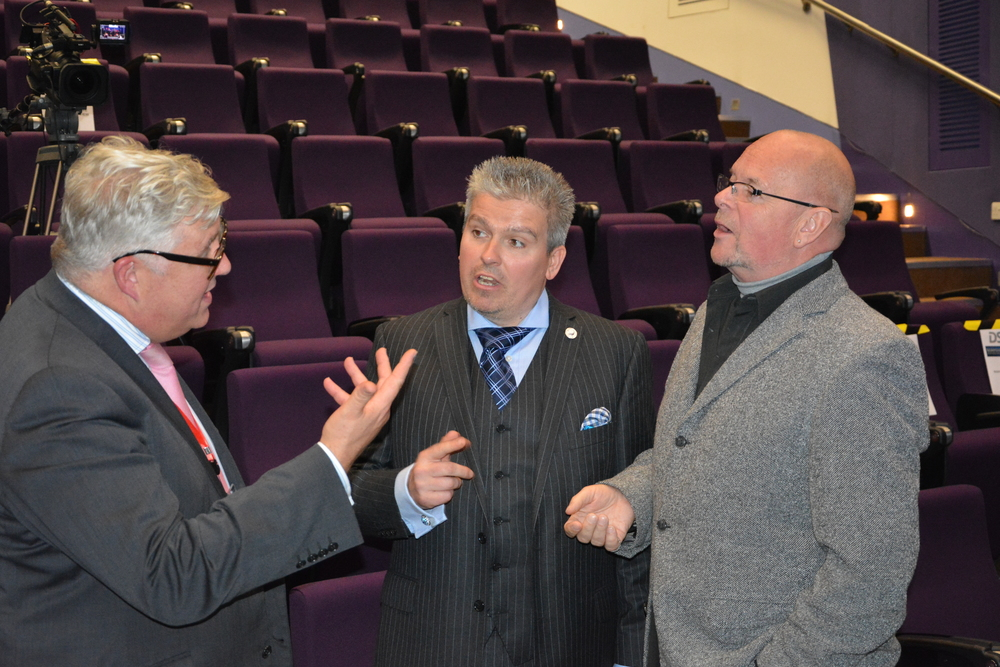 David Bell, Cllr Kevin Bentley & James Whale