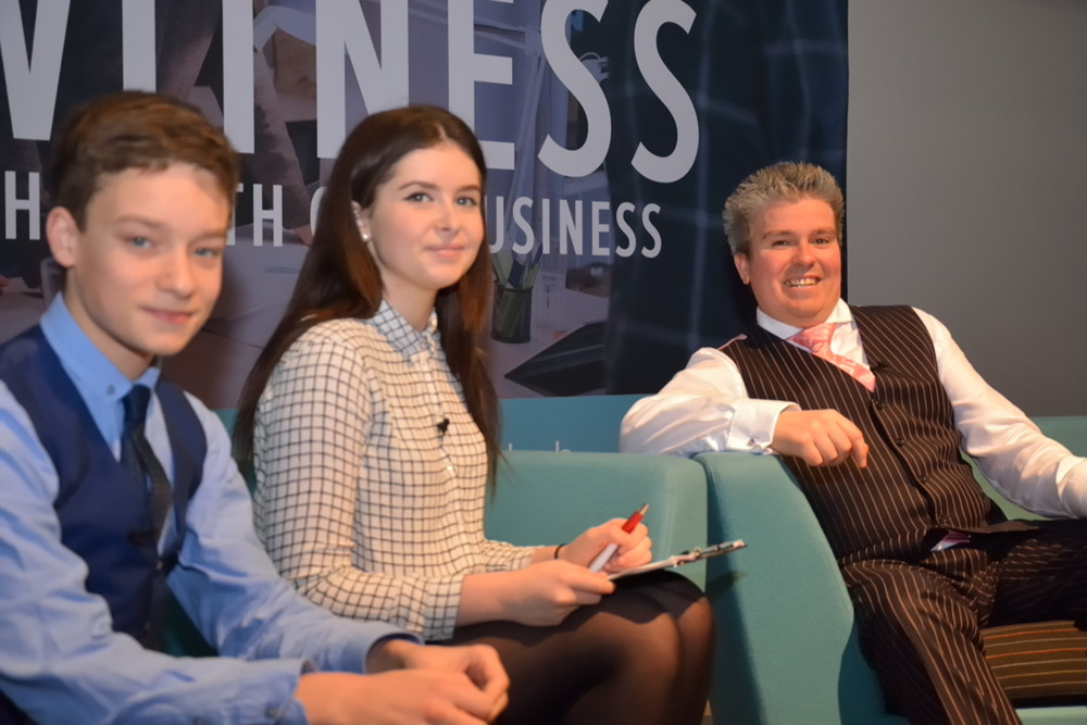 David Bell hosting Witness the Birth of a Business Event