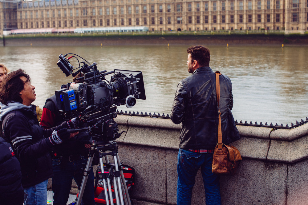 "BEING FILMED FOR ""LG 4K"" COMMERICAL IN LONDON"