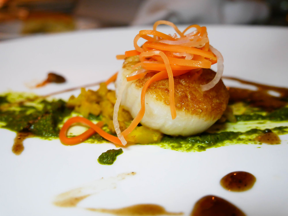 Pan-Roasted Sea Scallops