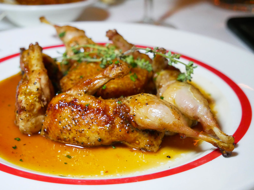 Roast Louisiana Quail Elzey