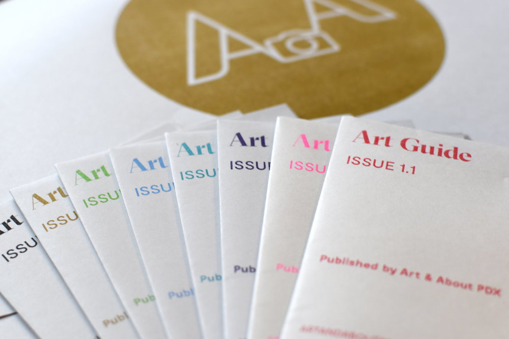 Inaugural Issue of the PDX Art Guide