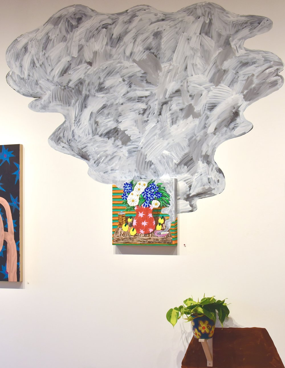 Interview with artist Kellen Chasuk. - Following the opening of her solo show at Stephanie Chefas Projects,Plastic Flowers. Learn more about her art experiences, the content or her work, the choices she made in displaying it, her creative practice and what she has coming up.