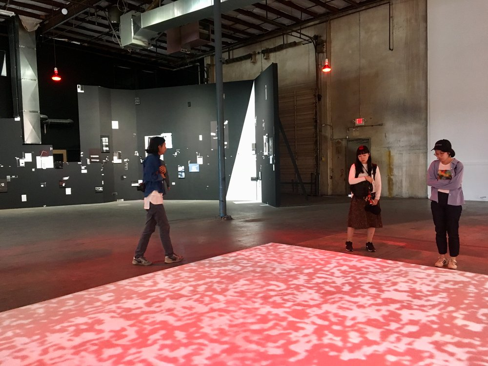 End of Summer 2018 Resident Artists at Portland Institute of Contemporary Art.