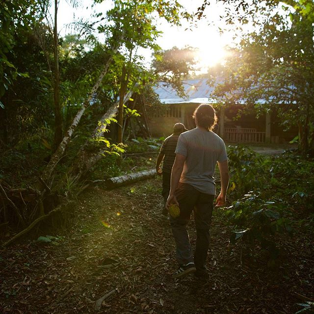 The team is leaving the jungle today to go back to Lima to meet some new exciting characters.  Photo featuring Producer @__jackguy