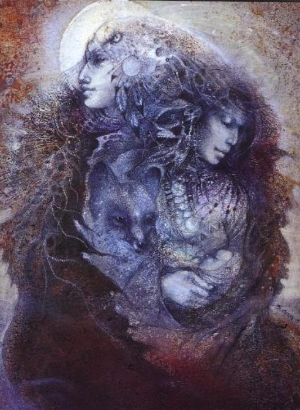 """Mother Earth and Father Sky"" by Susan Seddon-Boulet"