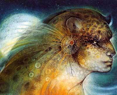 """Hathor"" by Susan Seddon-Boulet"