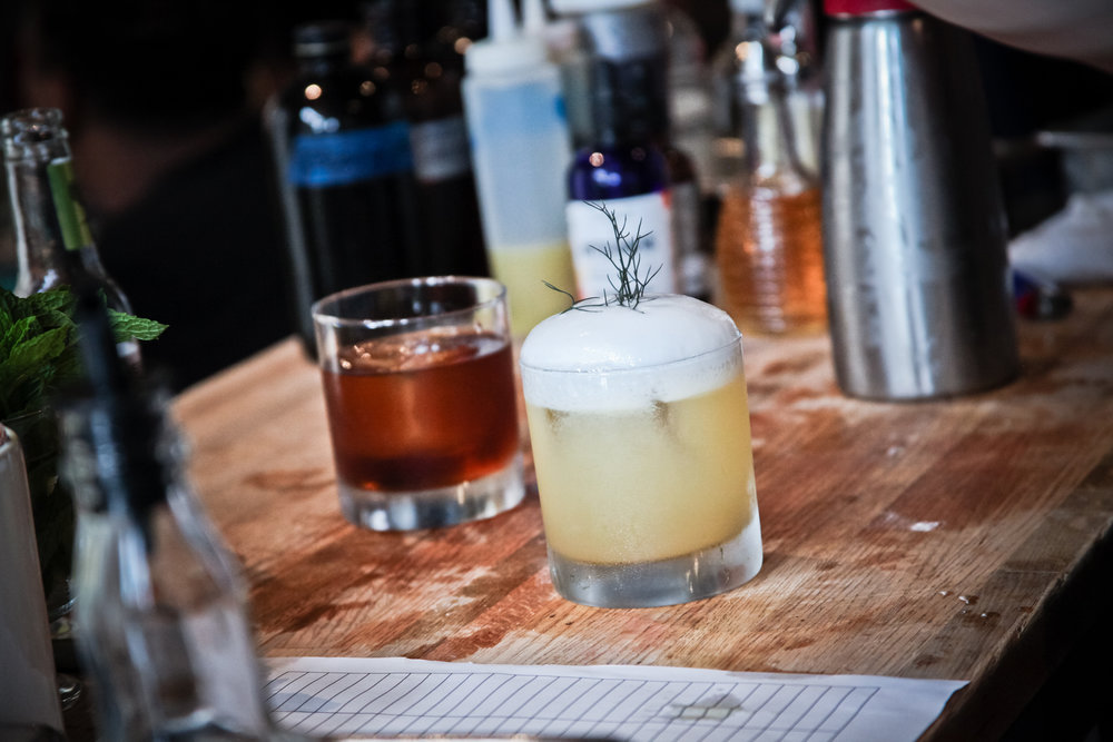 photos by JG -31- the sea hound - kombu vodka, aquavit, honey, grapefruit, ginger, celery, espuma.jpg