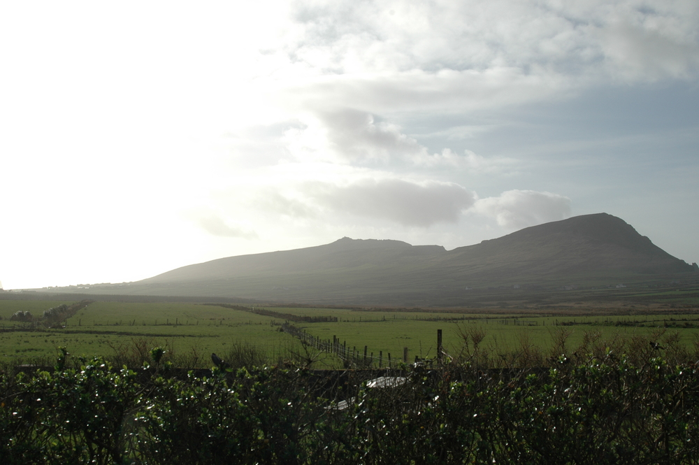 This is where I spentmy Easter weekend – Dingle Peninsula – In the middle of nowhere.