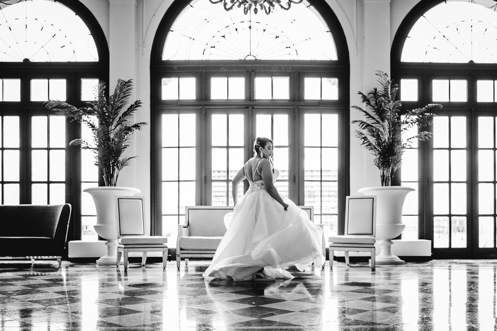 Bride | Wedding Dress | The Berkeley Hotel | Shooting for Kit and Bug Photography | Asbury Park Photographer | Spring Lake Photographer | Wedding Photographer | Jersey Shore Photographer