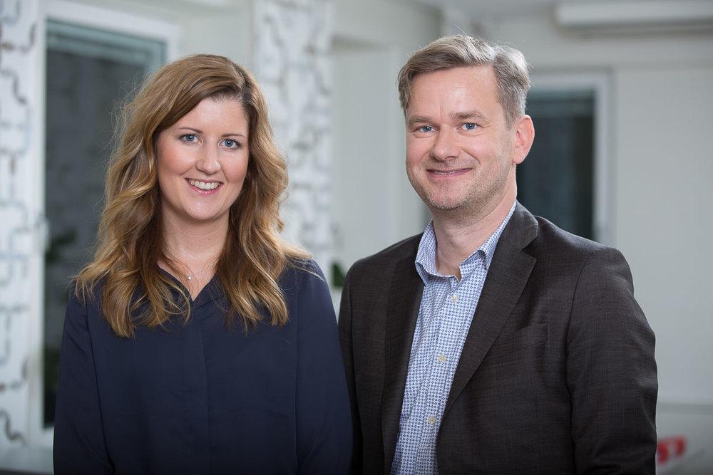 Jennie Andersson och Pär Svahnberg, Toxintelligence