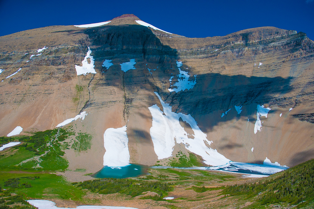 Siyeh Pass - Glacier National Park