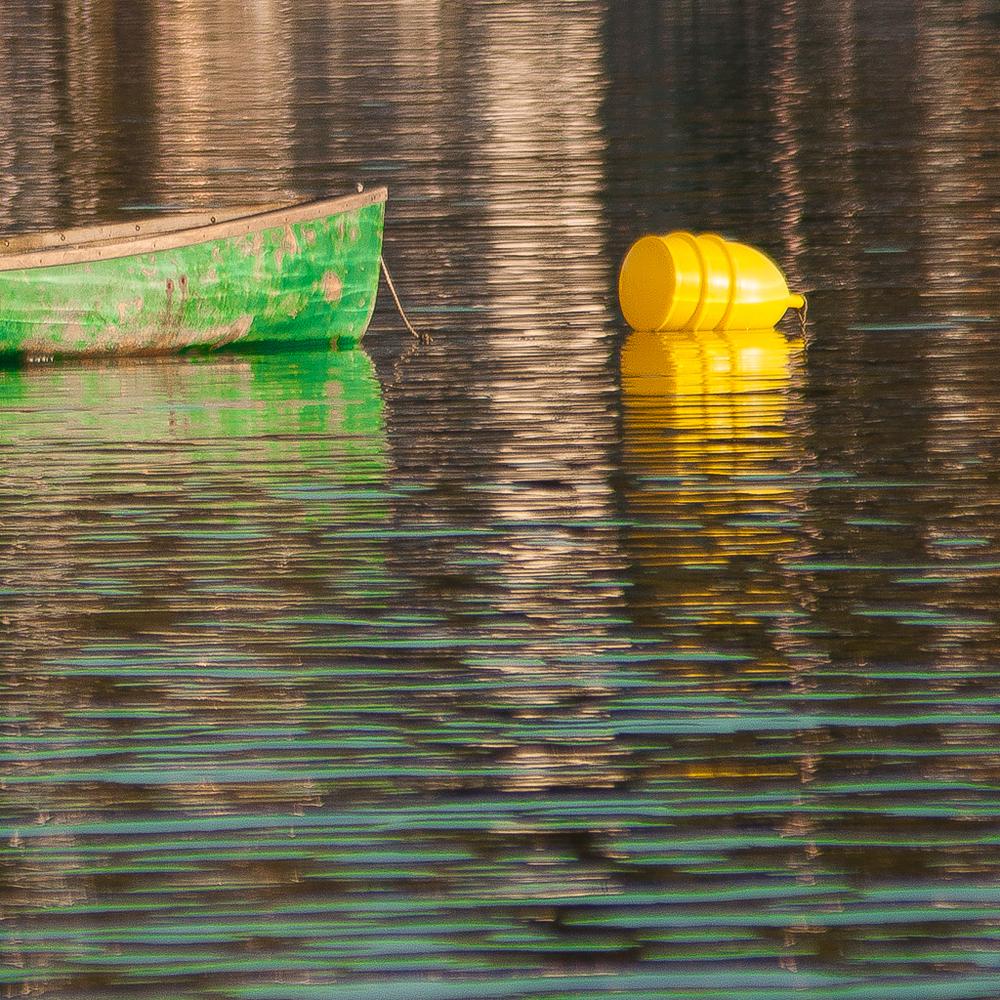 Green Dory - Swan's Island, Maine