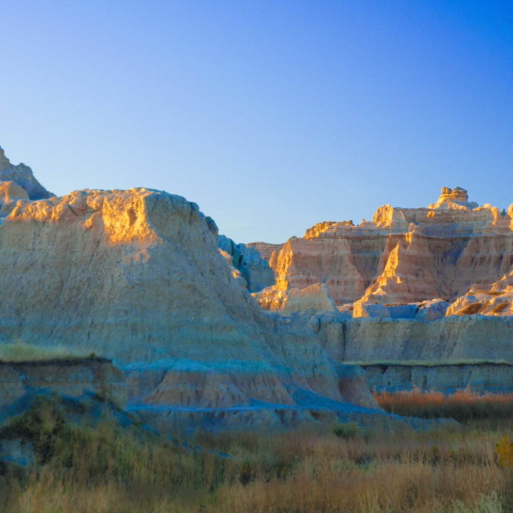 Badlands Sunrise II - Badlands National Park