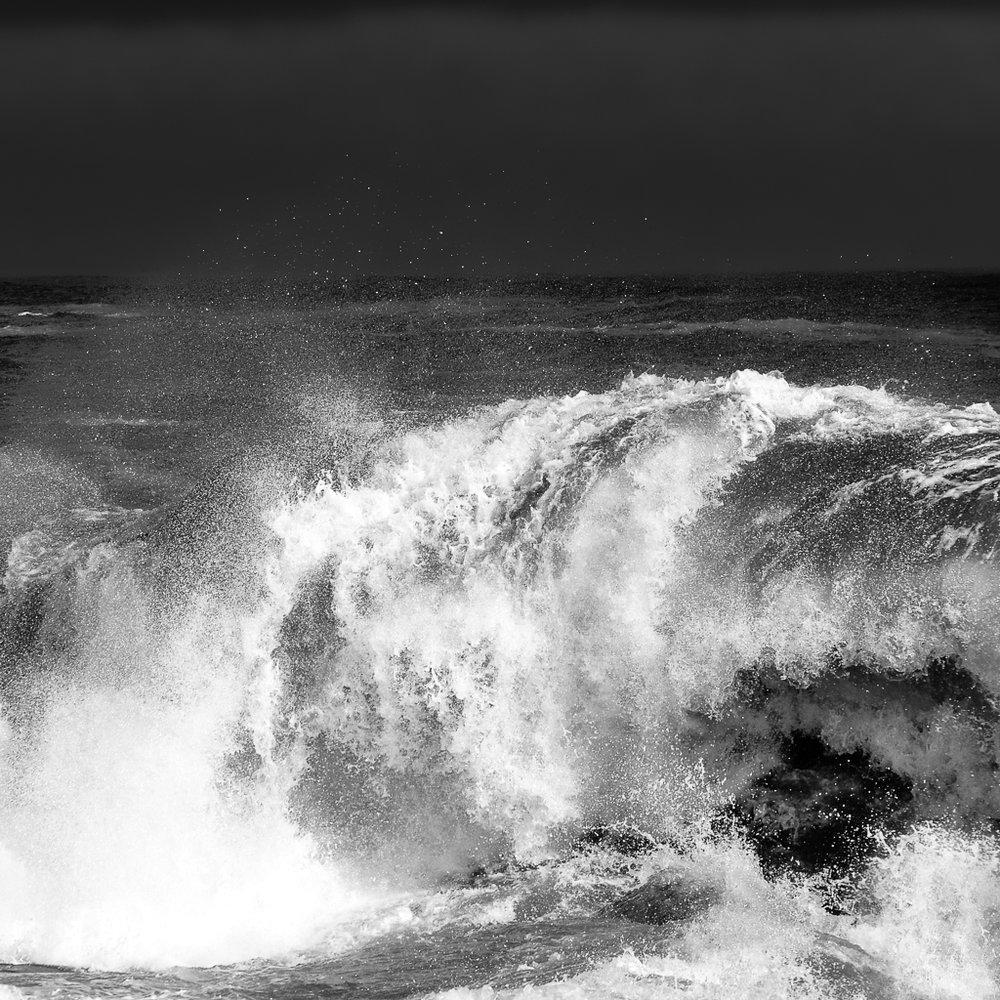 Tidal Surge (B&W)