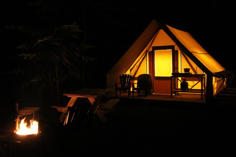 Tente Huttopia