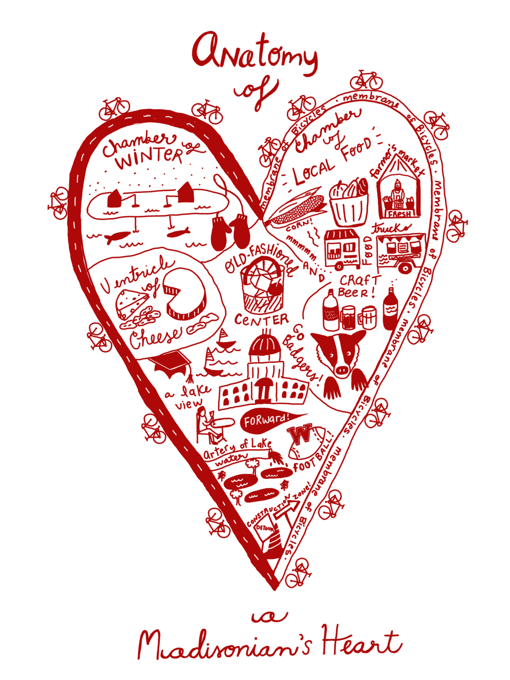 Anatomy of a Madisonian's Heart