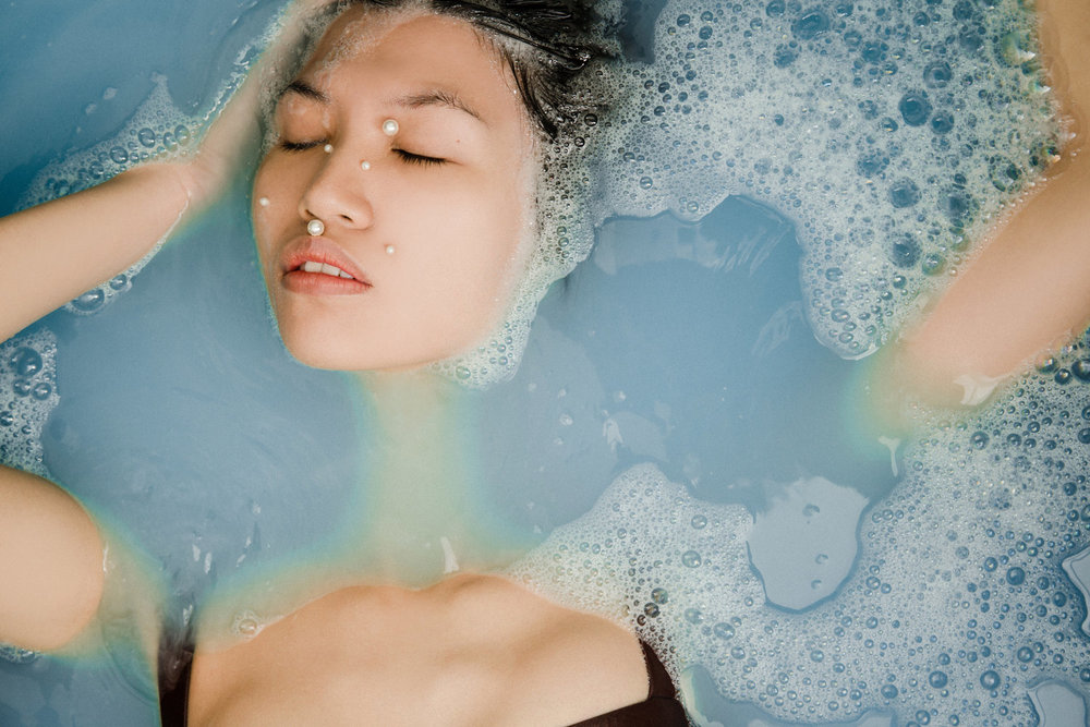 submerged - An experimentation with the transformative quality of water.LIIPSTIIK PROJECT TEAM:Photography | Amanda KhoStyling and Art Direction | Jocelyn Liipfert Lam, LIIPSTIIKProduction | Sarah Chiang, LIIPSTIIKModel | Janice YipHair and Make-up | Shue Lai