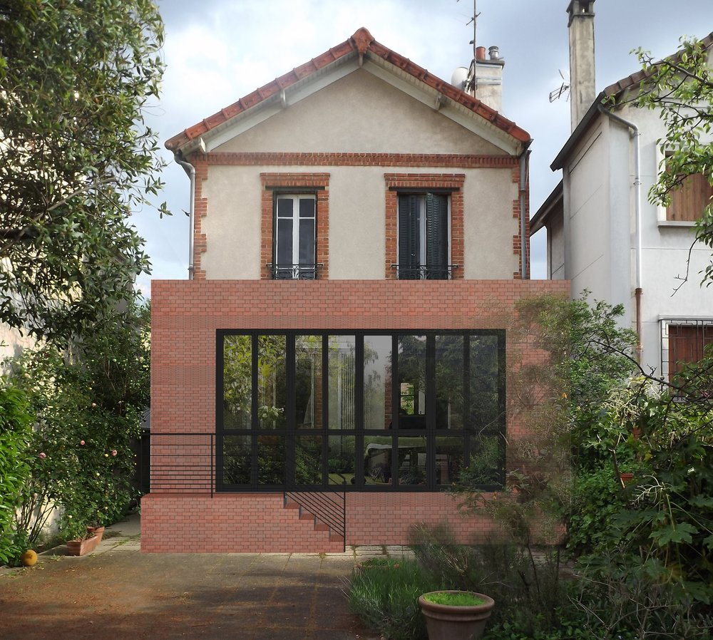 "EXTENSION ""HOUSE C""      I      2016 -"