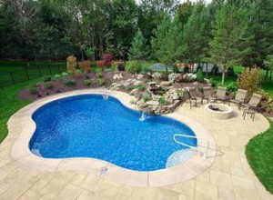 Professional Landscaping and In-Ground Pool