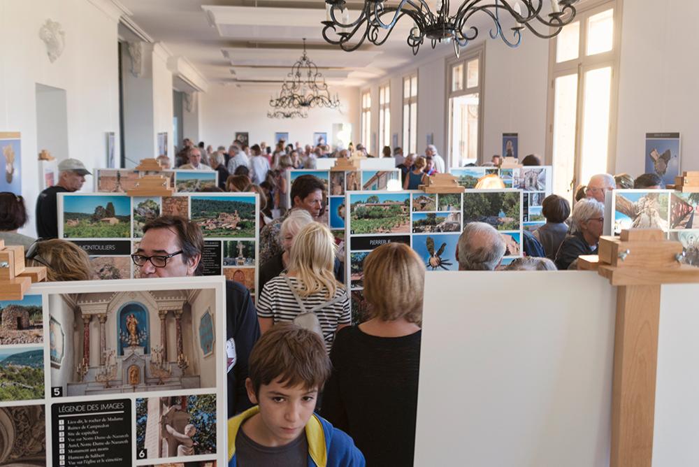 Lancement de la saison culturel 2015 - 2015 à Cruzy, au Château de Sériège