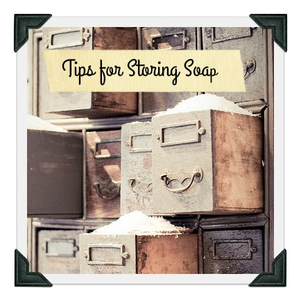 Are you gifting soap this holiday? Tips for safe keeping it until you're ready to give it away. Random Suds Blog | Soapworks Studio