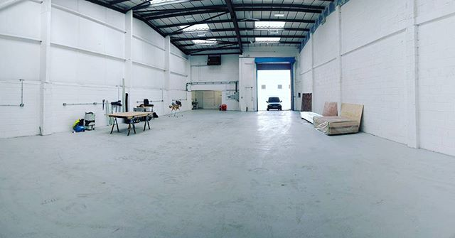 Home for the next few weeks building half a 🏠 for a theatre set. #sceniccarpentry #timber #warehouse #setbuild #theatresets