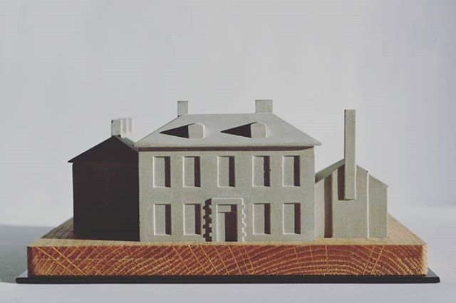 Been mad busy lately producing these 1:200 scale concrete buildings of Handley House for @holmeswood27  Hand cast and numbered editions of 70 set into cnc'nd oak bases and powder coated plates. Massive shout out to @rowantoms  for all his hard work and woodman @ejtrent and his steel magic! #modelmaking #cnc #oak #casting #concrete #scalemodel #limitededition